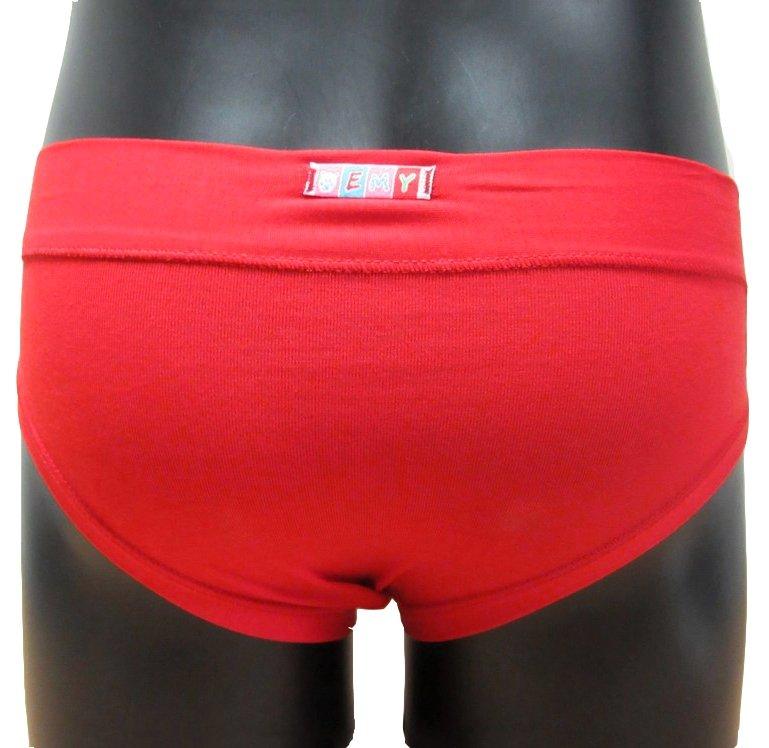 Emy Bimba kalhotky dívčí 151 červené  be77ce84fc