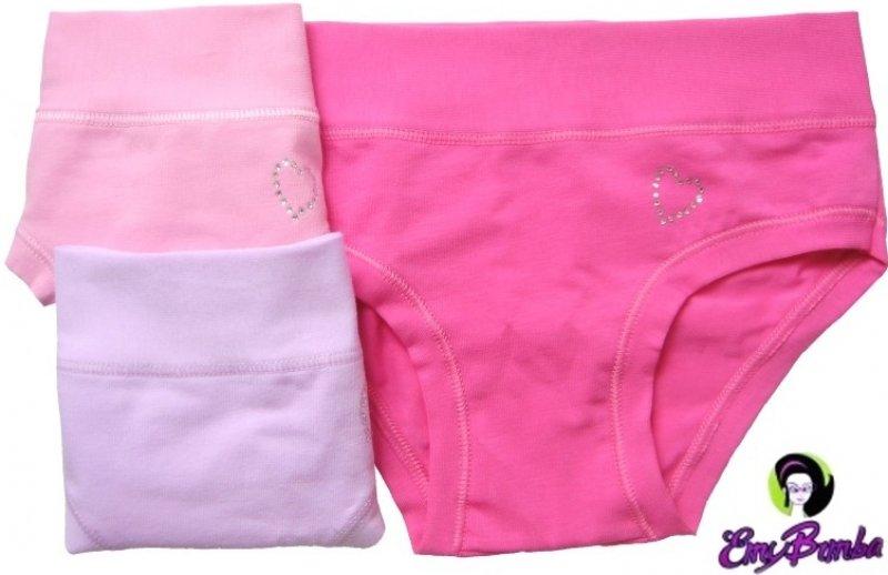 Emy Bimba kalhotky dívčí jednobarevné 659  dfc3b42d6b